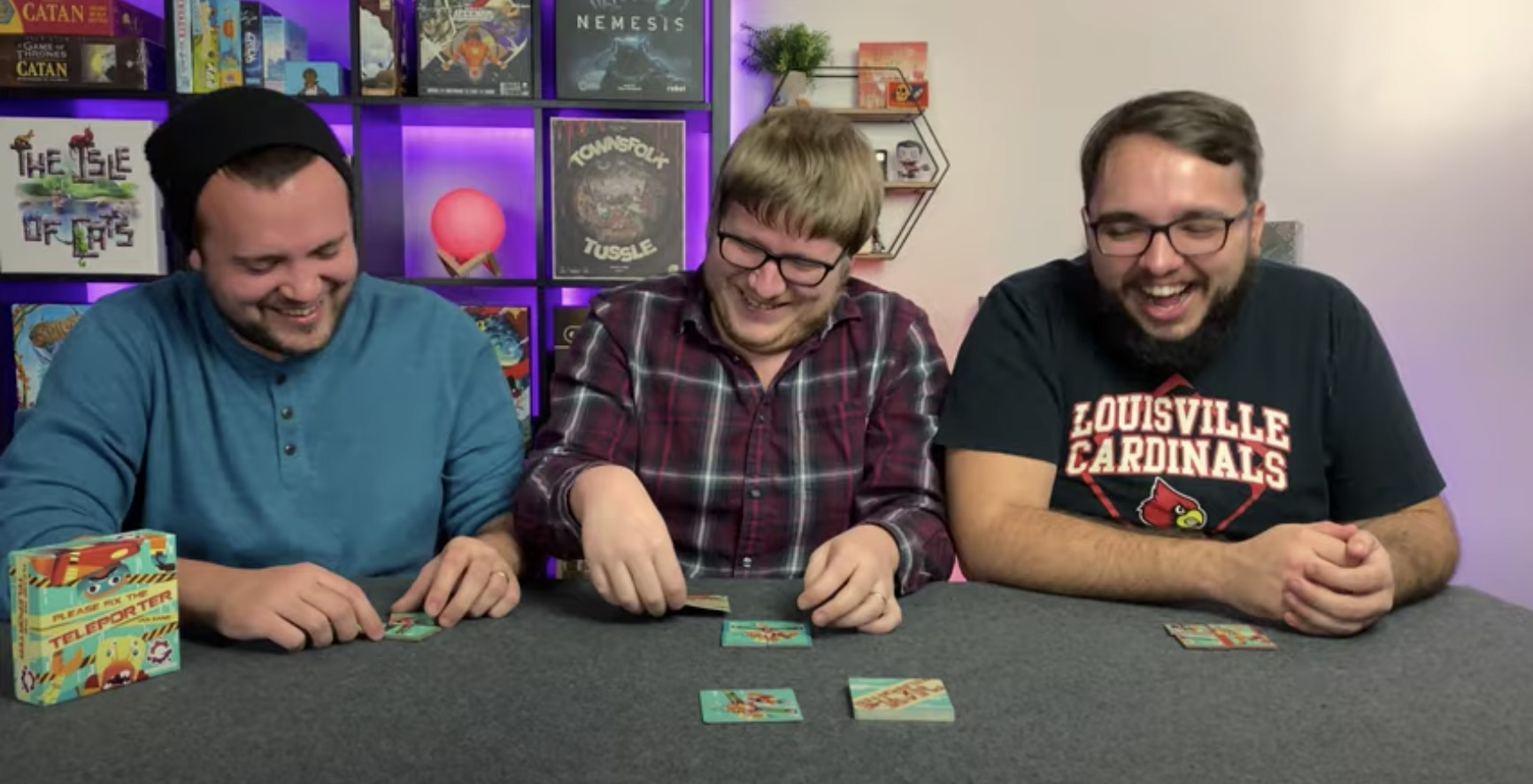 Watch the Tablenauts play!